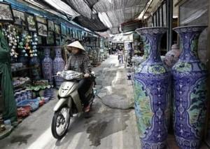 Bat Trang poterie Vietnam