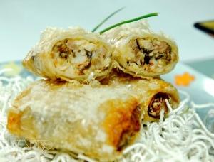 Le nem (rouleaux de printemps) au crabe de Hai Phong