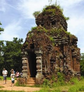Le sanctuaire de My Son a été construit entre les VIIe et XIIIe siècles.