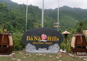 Le site touristique Bà Nà Hills