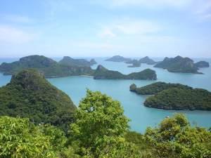 Une vue de l'archipel de Cat Bà