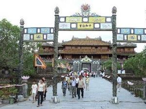 La Cité impériale de Huê.