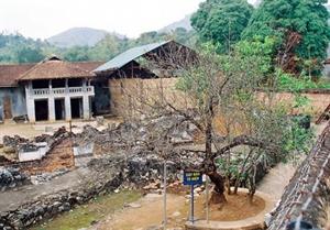 L'ancienne prison de Son La.