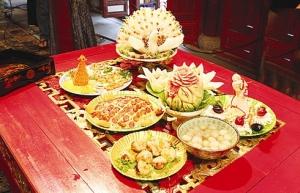 Un patrimoine culinaire au cachet royal