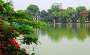 Le lac Ho Guom