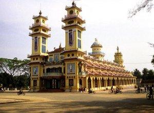 Le temple de Tây Ninh