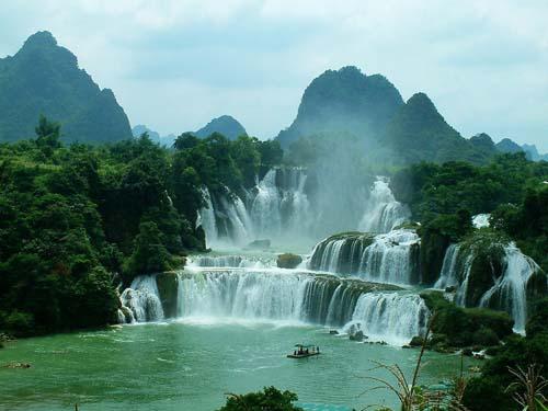 La cascade Ban Gioc au Vietnam