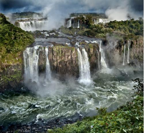 Les chutes d'Iguaçu en Amérique