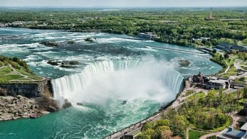 Les chutes du Niagara aux États-Unis
