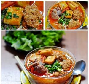 Soupe au crabe vietnamienne