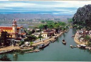 village-flotant-kenh-ga