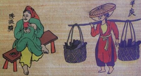 marche-d'autrefois-a-hanoi