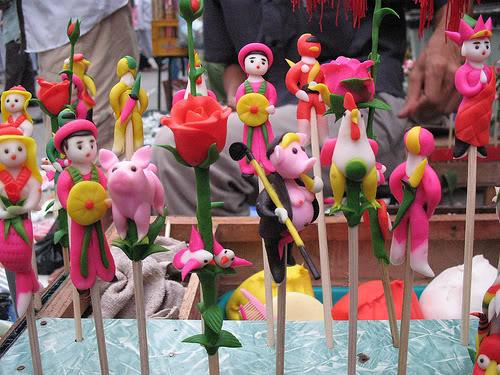 Les tò he créés par les artisans vietnamiens