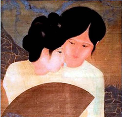 Deux amies Nguyen Tuong Lan