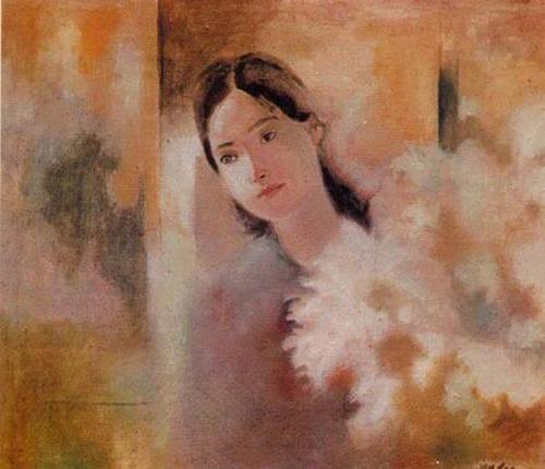 La fille au chrysanthème blanc duong bich lien