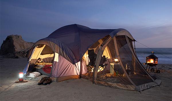 baie vinh hy camping