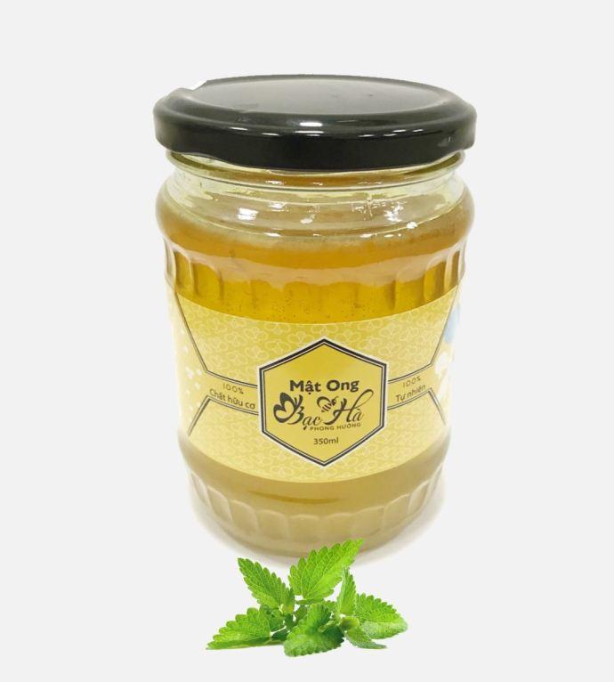 miel au menthe