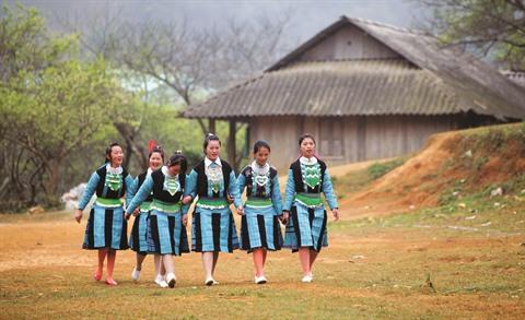 costumes de hmong